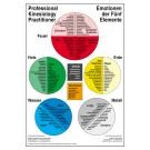 Wandkarte Emotionen der Fünf Elemente