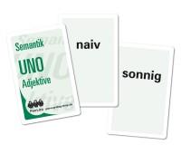 Wortkartenspiel  Semantik UNO Adjektive