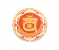 Chakmonie® Glasuntersetzer SakralChakra