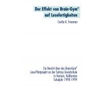 Script Der Effekt von Brain-Gym® auf Lesefertigkeiten