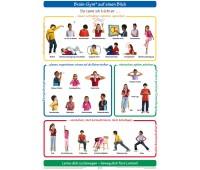 Wandkarte Brain-Gym® auf einen Blick