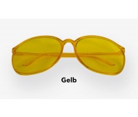 PK Colour Therapy Glasses – Gelb
