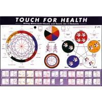 TFH-Wandkarte: Mittag-Mitternacht-Gesetz und Gesetz der 5 Elemente