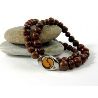 Silencer®-Kette mit 50 Perlen aus echtem Jaspis